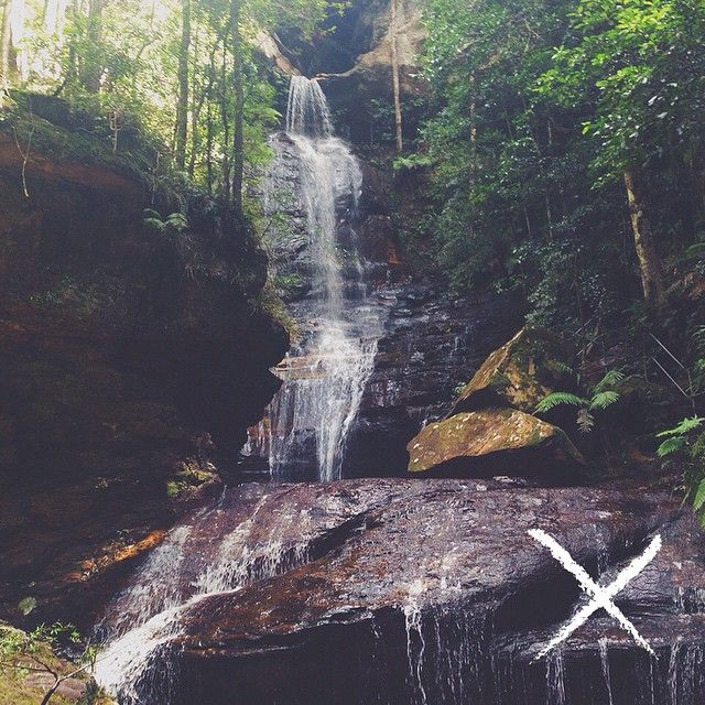 Empress Falls // Wentworth Falls http://www.foundclothing.co