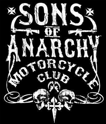 Camiseta chica Sons of Anarchy. Motorcycle club logo Foto 1