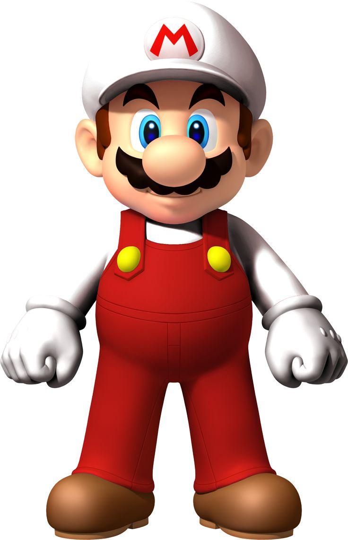 Fire Mario (New Super Mario Bros. Wii) by Sunnyboiiii