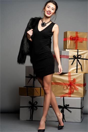 Siyah Elbise  www.fashionturca.com
