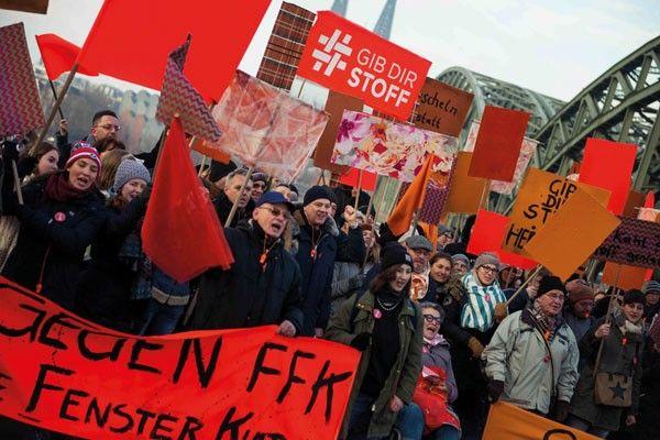 #raumkontor #demo orange #ITR #gib dir stoff #stoffe #textilien #köln #imm #imm cologne #imm2017 #Initiative Textile Räume #Messe #Messestand #Demo #Orange