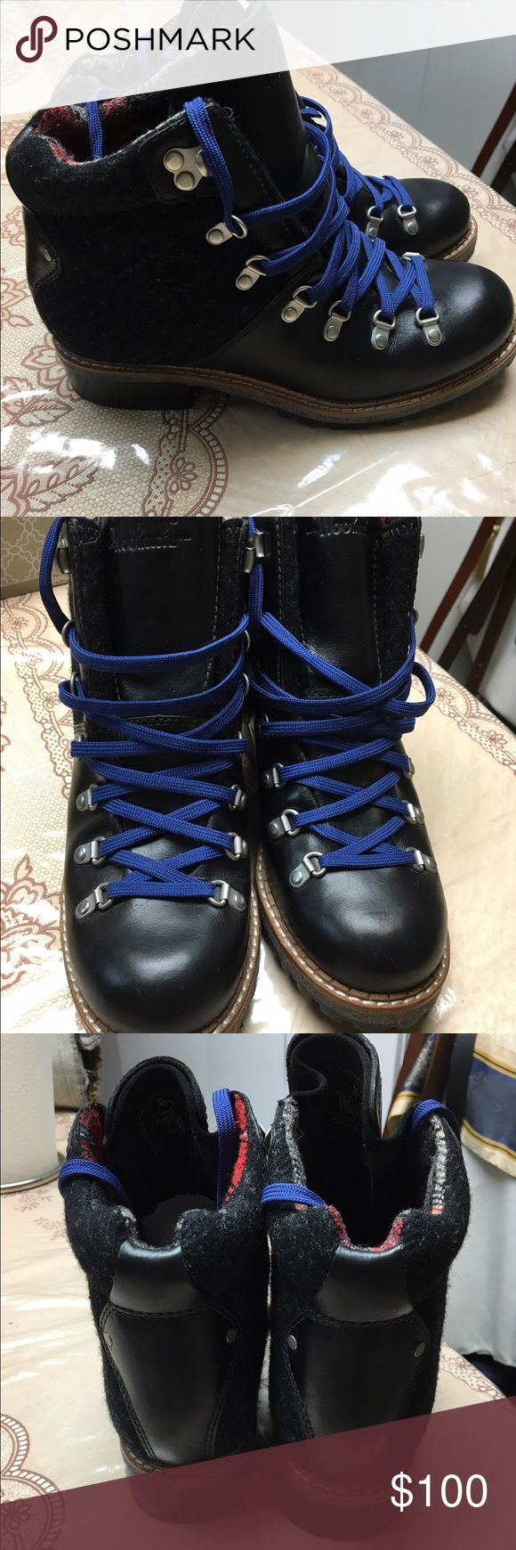 Woolrich Rockies Boots These are brand new with no box, they were in storage so have a few minor scratches/leather wrinkles. As you can see by the bottom these are some of the best built winter boots to buy! Woolrich Shoes Ankle Boots & Booties