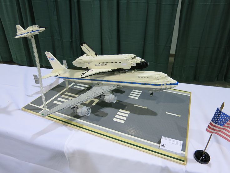 lego space shuttle and plane - photo #11