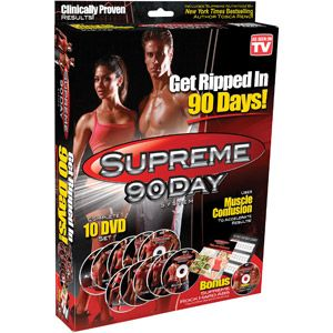 Supreme 90-Day Workout Guide... reminds me of the power 90!!!!!!