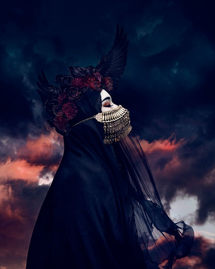 """Blessing"" — Photographer/Model: Natalie Shau​ - Dark Beauty"