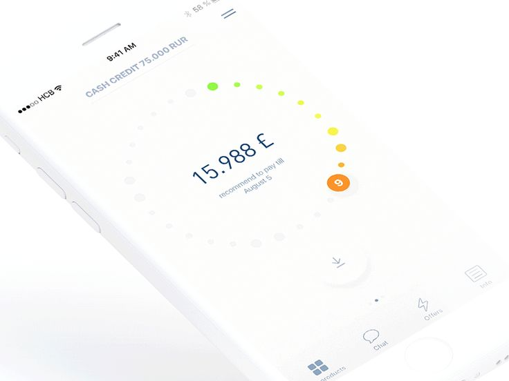 Mobile Banking #ui #ux #animation #mobile #dribbble #gif #ios #iphone #interface #design