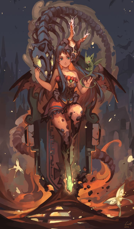 ArtStation - Demon Girl, Cotton Tan