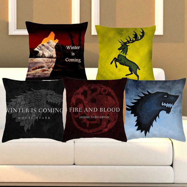Decorative Game Of Thrones Cushion Covers //Price: $12.00 & FREE Shipping //     #gots7