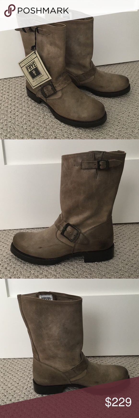 Frye Veronica short boot New Frye Veronica short boot in Slate. Mid-calf leather boots. Frye Shoes Ankle Boots & Booties