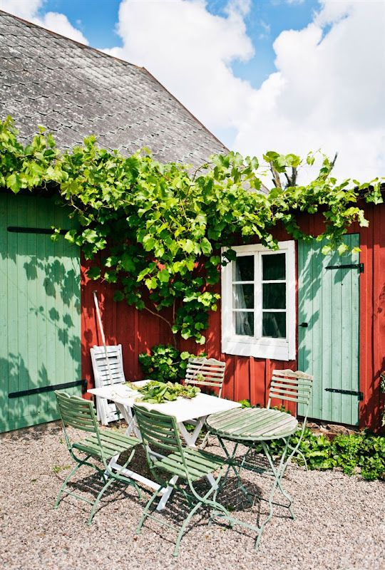 DESDE MY VENTANA: UNA CASA EN SUECIA / A COUNTRY SWEDISH HOUSE
