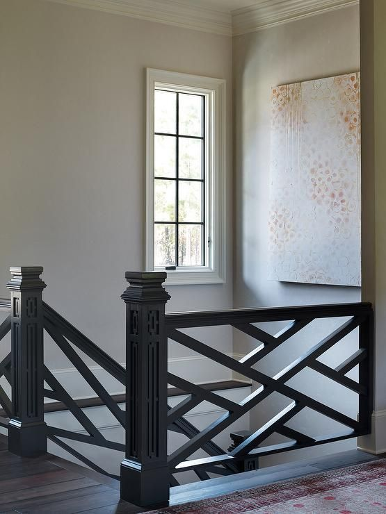 Best Second Floor Landing Leads To A Black Lattice Staircase Bienvenue Chez Toi Pinterest 400 x 300
