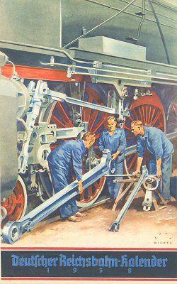 Reichsbahn-Kalender 1938
