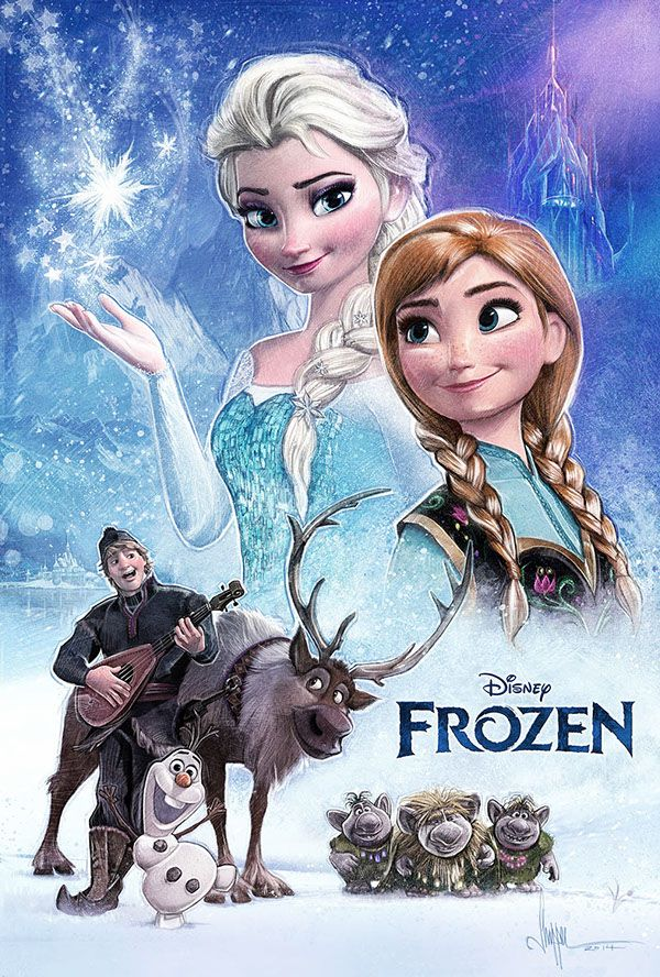 Frozen - movie poster - Paul Shipper | Design: Movies ...