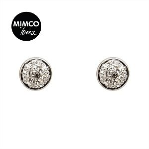 Mimco Loves | Jewellery by Mimco - MINI CRYSTAL DOME STUD - Mimco Pty Ltd