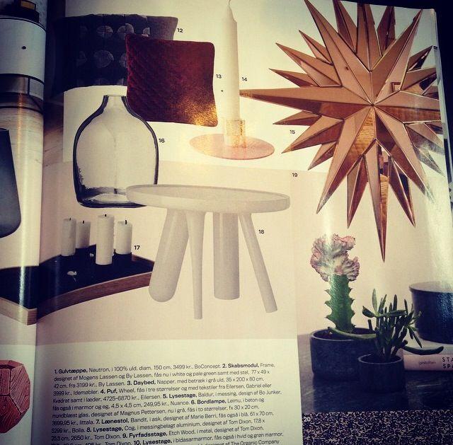 Reflections in the danish magazine Bo Bedre 10/2014