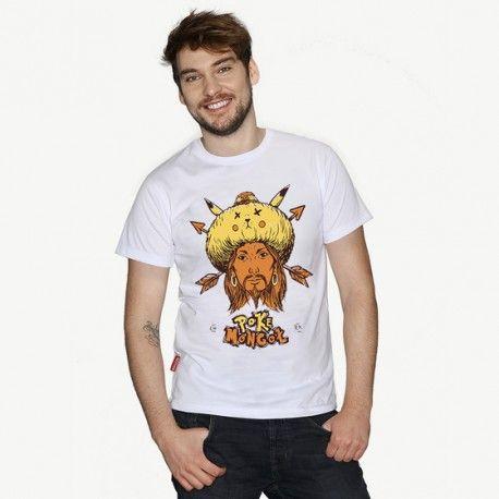 POKE MONGOŁ (pokemon go :)) - męski t-shirt CHRUM - polscy projektanci / polish fashion designers - ELSKA