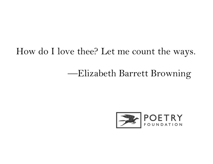 an analysis of how do i love thee from sonnets from the portuguese by elizabeth barrett browning Sonnets from the portuguese 43: how do i love thee let me count the ways  sonnets from the portuguese 43: how do i love thee let me count the ways by elizabeth barrett browning about.