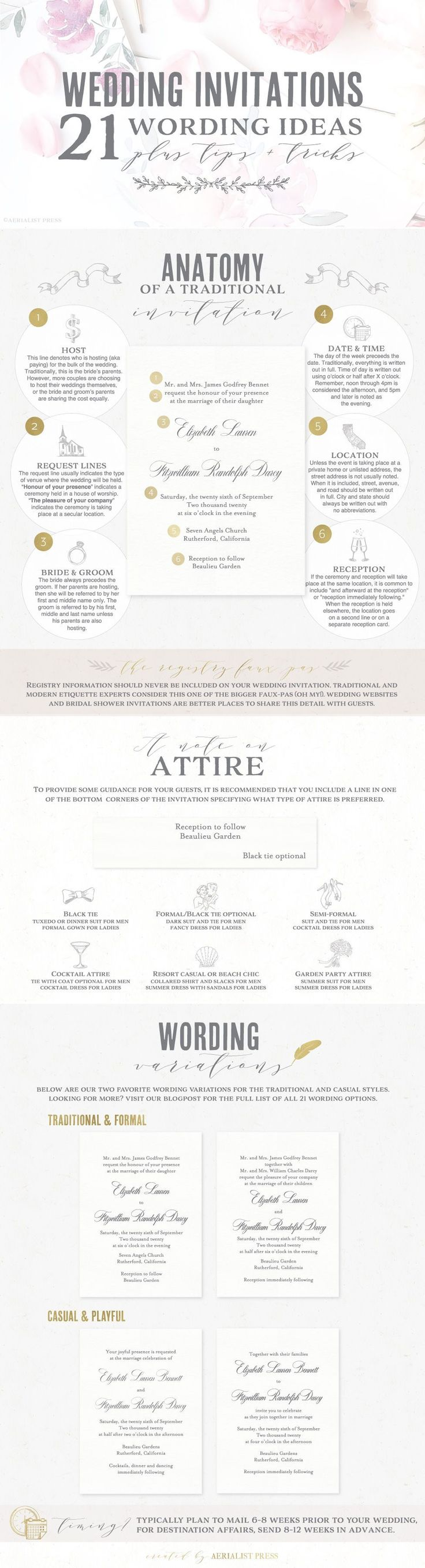 The 25 best wedding invitation wording templates ideas on 12 amazing wedding invitation wording templates and examples stopboris Images