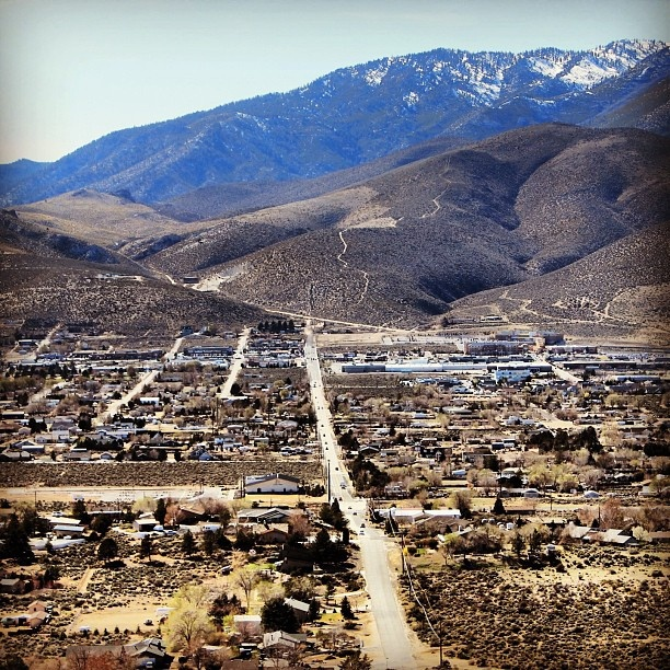 View from Prison Hill Trail, Carson City by Nouhailler, via Flickr