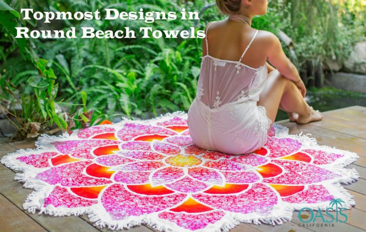 The Topmost Designs in Round Beach Towels Wholesale Pieces Surfacing Today