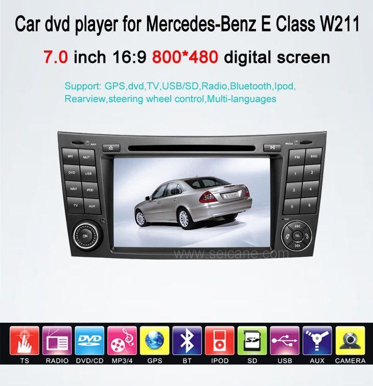Mercedes-Benz E Class W211 car dvd gps