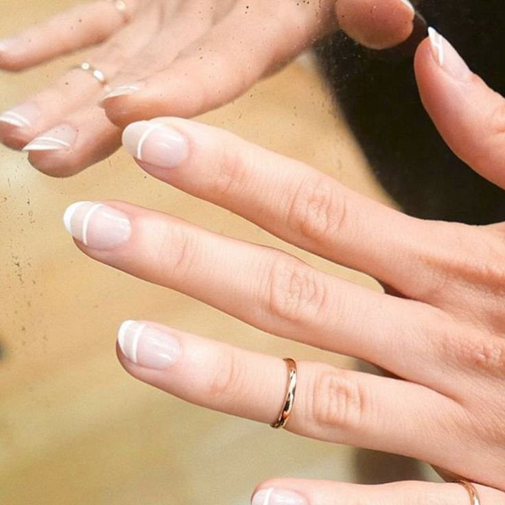 Minimalist nail art: 15 chic upgrades to the classic French manicure