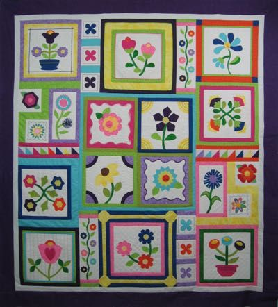 """""""Stitchers Garden"""" - A Sewing Technique Block of the Month - Heirloom Creations"""