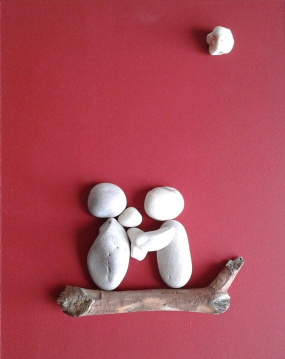 Stone people  Family... by LiseStones on Etsy