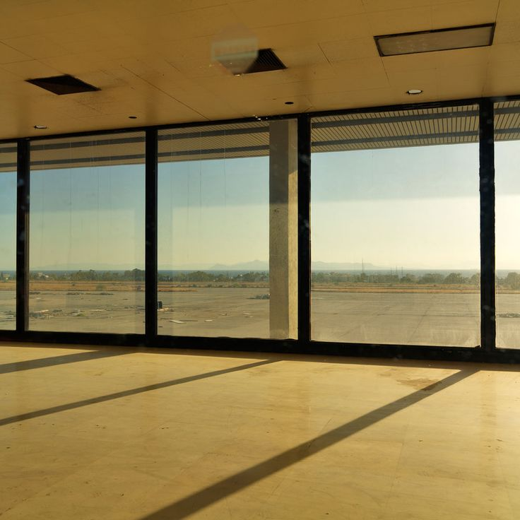 """Ellinikon"", by Alexandros Lambrovassilis. It's a documentation of the current state of the former international airport of Athens."