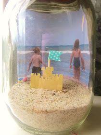 Embellishing Life: summer beach memory jar