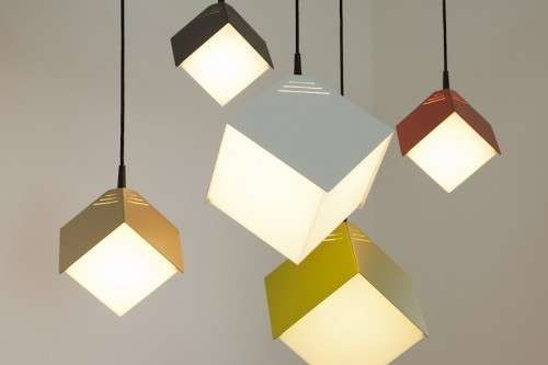 The Julian Appelius Dado Lamp Brightens Your Home with Geometry #design #creativity trendhunter.com