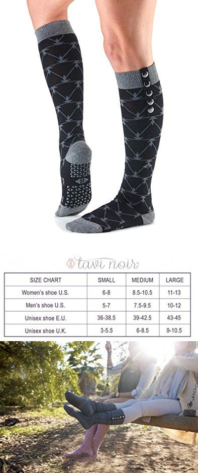 0a6a5147498 Tavi Noir Stella Knee High Grip Socks (Broken Arrow Ebony) Small ...