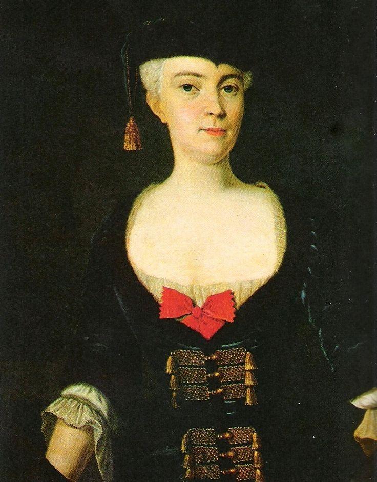 Portrait of Katarzyna Bieliński 1720, Anonimus