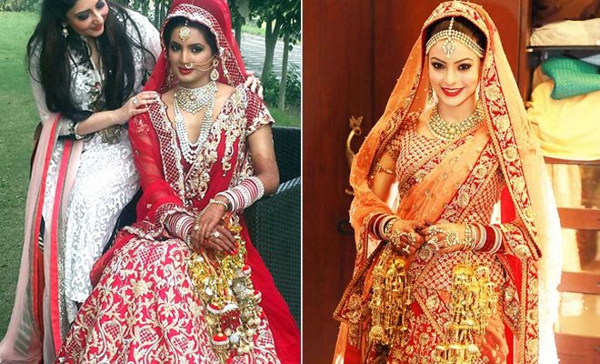 Here's a look at some other #famous #brides and their #dresses on their big day!