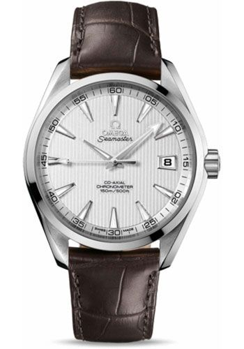 Omega Watches - Seamaster Aqua Terra 150 M Co-Axial 41.5 mm - Stainless Steel - Style No: 231.13.42.21.02.001