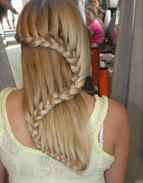 love this!!!: Hair Ideas, Fashion, Hairstyles, Hair Styles, Awesome, Makeup, Beauty, Waterfall Braids