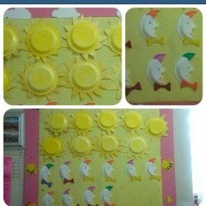 Paper Plate Sun Craft Idea Space Craft Idea For Kids Pinterest