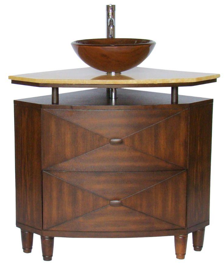 Awesome Websites corner bath vanity cabinets olished Chrome single hole vessel sink faucet and matching polished