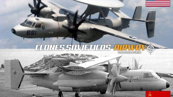 E-2 vs. Yak-44: se a União Soviética tivesse durado mais é bem possível que o Yak-44 tivesse virado realidade e não só uma maquete clonada do E-2