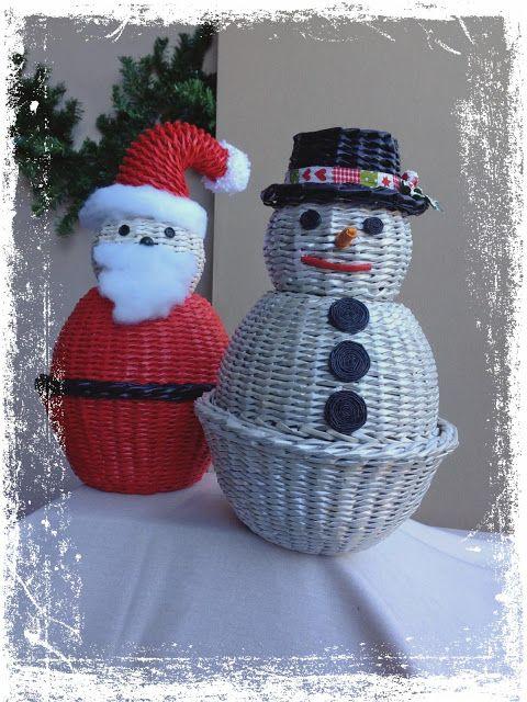 Creazioni di Evi Bossanyi: Portadoni natalizi