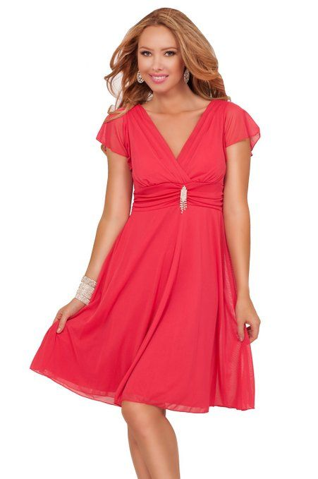 Charming and elegant, this dress says it all. This bridesmaid type dress has a deep v neckline with sheer short sleavs. It has a ruched waist accentuated with rhinestone jewelry with a flowy sheer skirt. High quality fabrics that will keep you cool and comfortable all night.