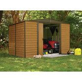 Found it at Wayfair - Dallas Euro 10 Ft. W x 8 Ft. D Steel Storage Shed