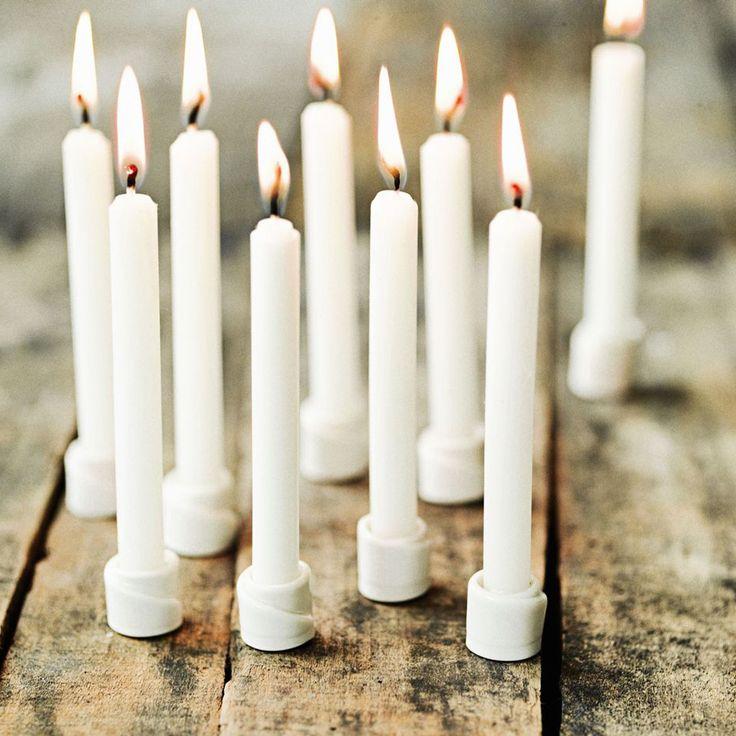 Sukima - Candles Jul  eenvoudig zelf te maken met fimoklei