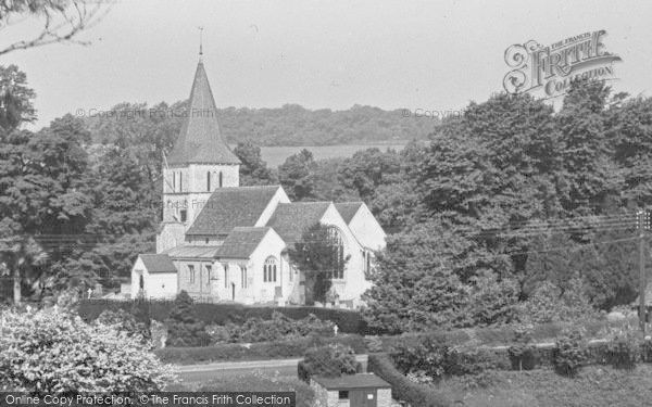 Merstham, St Katharine's Church 1936, from Francis Frith