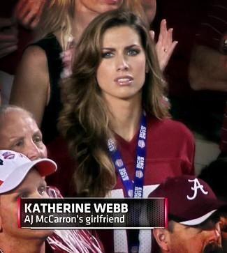"Katherine Webb Now A Media ""Must"" – AJ Not so Sure"