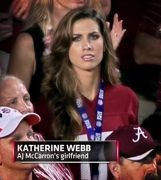 "Katherine Webb Now A Media ""Must"" – AJ Not So Sure"