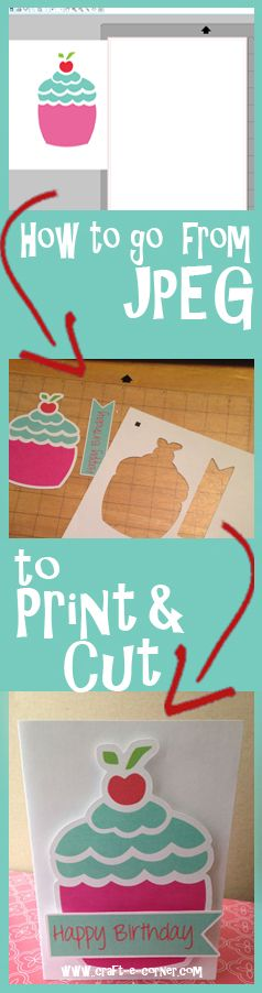 How to take ANY JPEG and make it into a Print & Cut file with the Silhouette Studio Software.