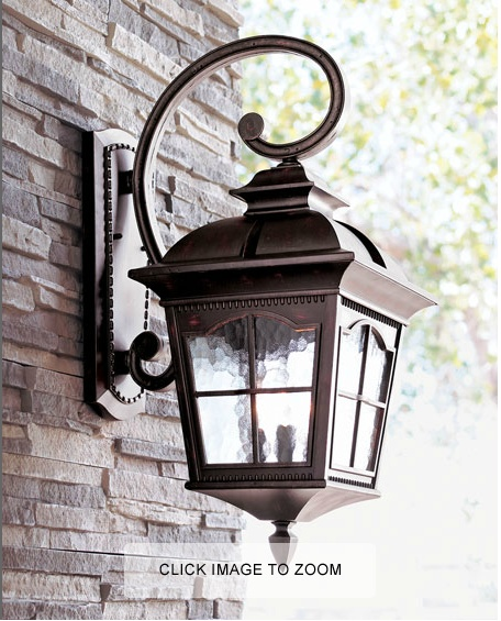 17 best images about mailbox ideas and outdoor lights on for Colonial exterior lighting