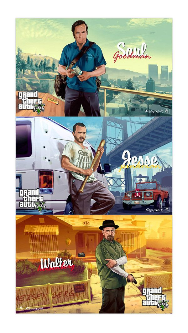 GTA 5 Breaking Bad.
