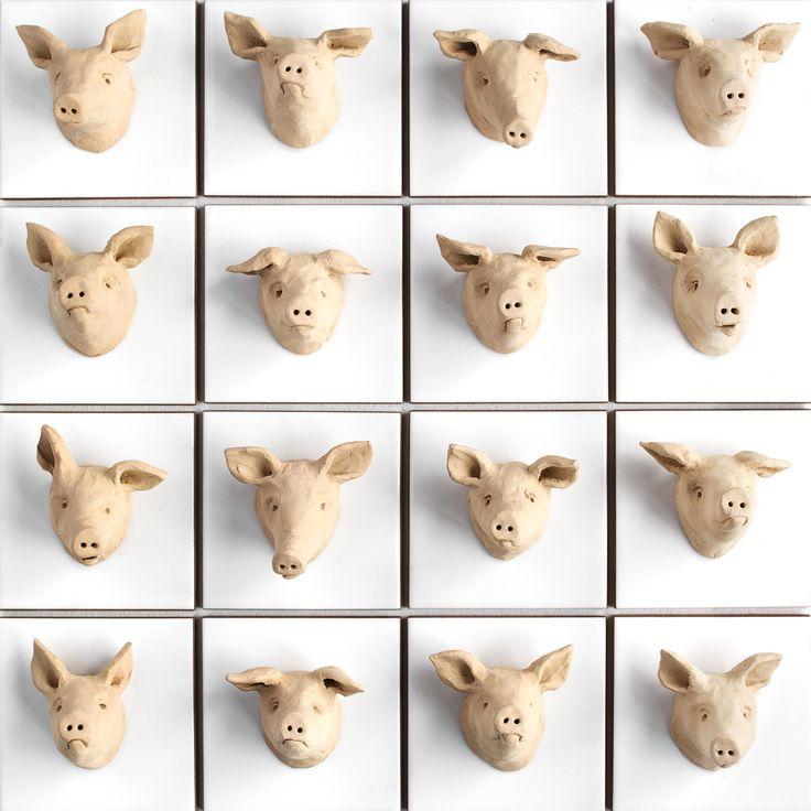 Inger Heebøll, Det er ikke svinets skyld - Biennalen
